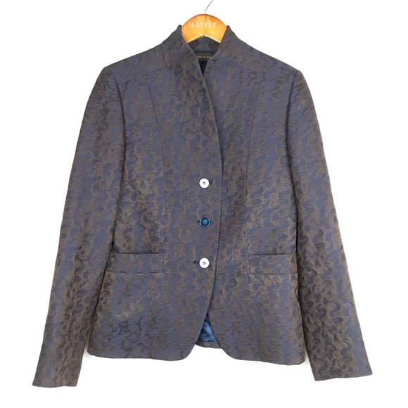 Paul Stuart Jackets & Blazers - Paul Stuart Wool and Silk Blend Blazer Womens 8